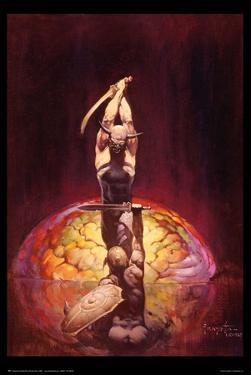 The Brain by Frank Frazetta