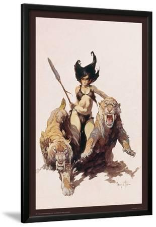 The Huntress by Frank Frazetta