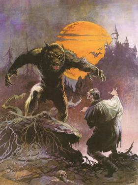Werewolf vs. Dracula by Frank Frazetta