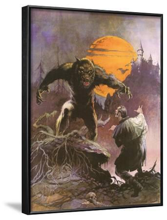 Werewolf vs. Dracula by Frank Frazetta