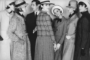 Glamour - April 1964 by Frank Horvat