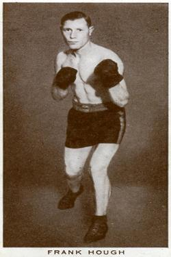 Frank Hough, British Boxer, 1938