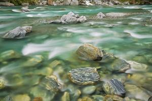 Brook Impression near Thunder Creek Fallswith Rocks by Frank Krahmer