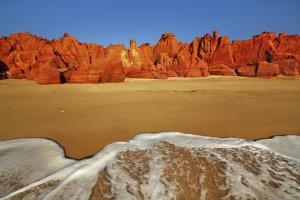 Cliff Landscape at Cape Leveque by Frank Krahmer
