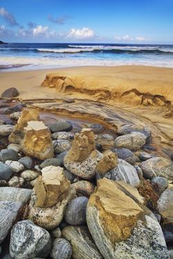 Coastal Landscape at Dail Beag by Frank Krahmer