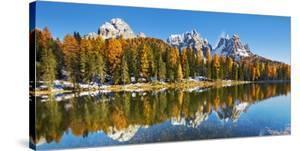 Lago Antorno and Misurina, Dolomites, Italy by Frank Krahmer