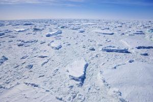 Pack Ice on Antarctica by Frank Krahmer