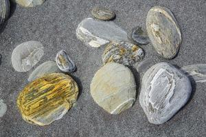 Pebbles at Beach by Frank Krahmer