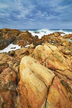 Rocky Coast and Surf at Canal Rocks by Frank Krahmer