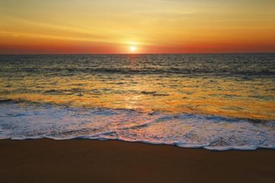 Sunset Impression at Ocean