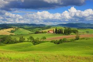 Tuscany Landscape by Frank Krahmer