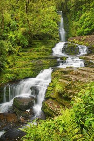 Waterfall Mclean Falls by Frank Krahmer