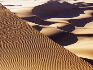 Wind tracks in dunes in the Namib Desert by Frank Krahmer