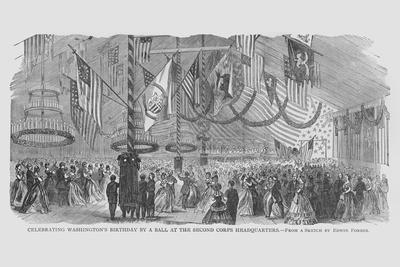 Washington's Birthday Ball at 2nd Corps Headquarters