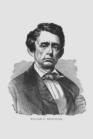 William G. Brownlow, Tennessee Governor