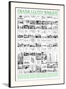 Buildings and Projects, 1869-1959 by Frank Lloyd Wright