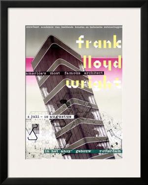 Frank Lloyd Wright, Dutch Exhibit