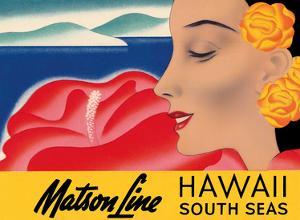 Hawaii And South Seas - Matson Lines by Frank MacIntosh