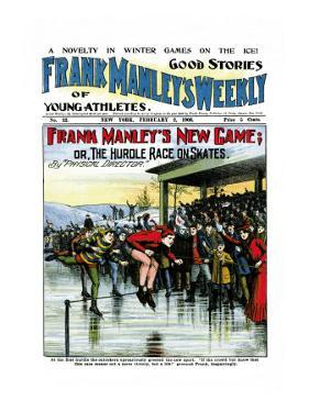 Frank Manley's New Game: Or, The Hurdle Race on Skates