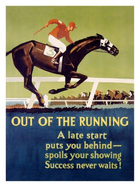 Out of the Running by Frank Mather Beatty
