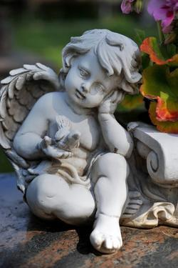 Sculpture of an Angel by Frank May