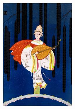 Goddess of Music by Frank Mcintosh