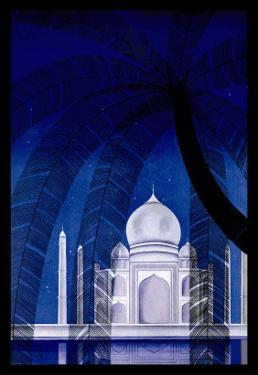 In Agra by Frank Mcintosh