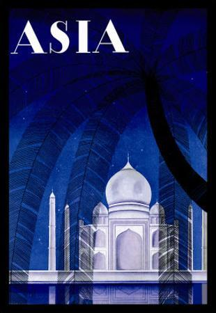 In Agra by Frank Mcintosh