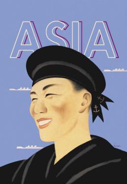 Japanese Sailor by Frank Mcintosh