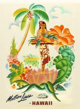Maston Line, Tropical Abundance by Frank Mcintosh