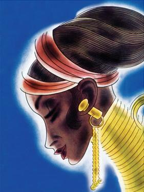 Ndebele Woman by Frank Mcintosh