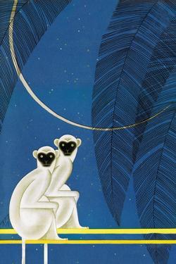 New Moon by Frank Mcintosh