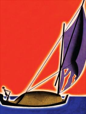 Under Sail by Frank Mcintosh