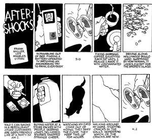 """After Shocks."" - New Yorker Cartoon by Frank Miller"