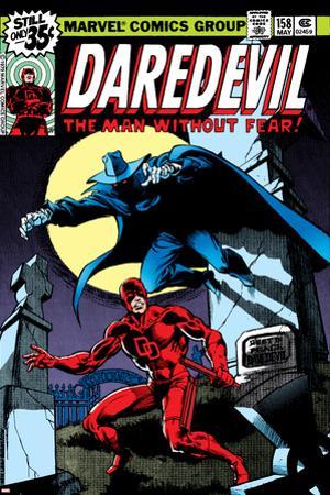 Daredevil No.158 Cover: Daredevil and Death-Stalker by Frank Miller