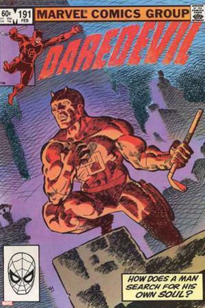 Daredevil No.500 Cover: Daredevil
