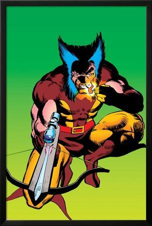 Wolverine No.4 Cover: Wolverine Crouching
