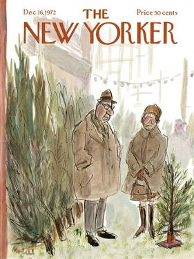 The New Yorker Cover - December 16, 1972 by Frank Modell