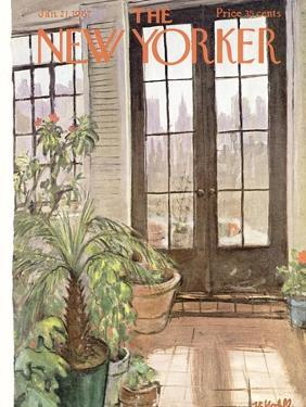 The New Yorker Cover - January 21, 1967 by Frank Modell