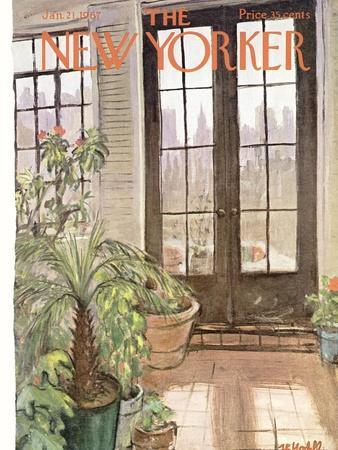 The New Yorker Cover - January 21, 1967