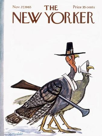 The New Yorker Cover - November 27, 1965