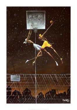Omega Fly Dunk by Frank Morrison