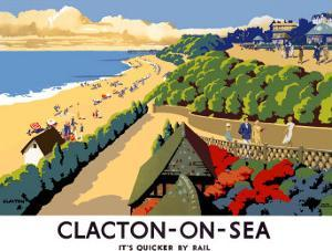 Clacton-on-Sea by Frank Newbould