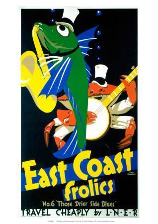 East Coast Frolics, No 6, LNER, c.1933