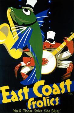 East Coast Frolics, No. 6 by Frank Newbould