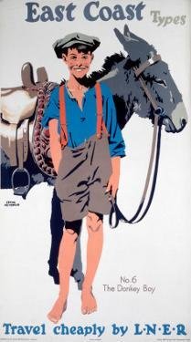 East Coast Types, No 6, The Donkey Boy, LNER, c.1923-1947 by Frank Newbould