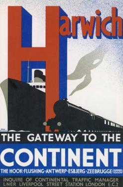 Harwich the Gateway to the Continent by Frank Newbould