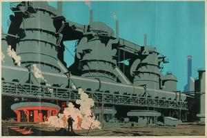 Steel Manufacturing in the United Kingdom by Frank Newbould