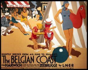 The Belgian Coast by Frank Newbould