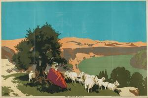 The Jordan Valley, from the Series 'Buy Jaffa Oranges' by Frank Newbould